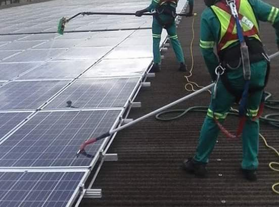 Camperdown Solar Panel Cleaning Services